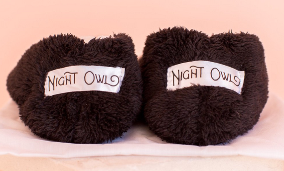 Night Owl Cozy Cute Footsies
