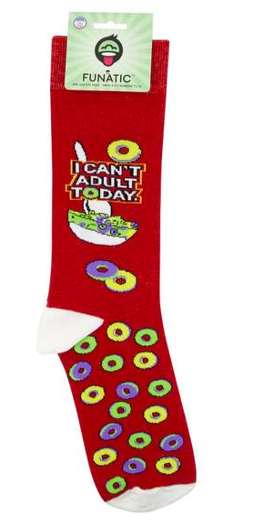I Can't Adult Today Socks