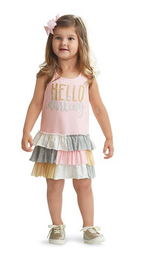 Hello Darling Ruffle Dress