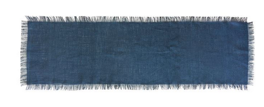 Navy Jute Table Runner