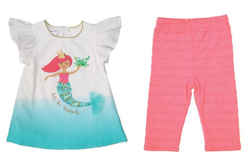 Mermaid Tunic & Legging Set