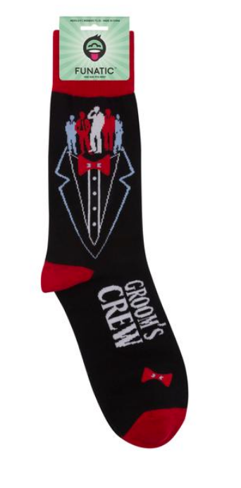 Groom's Crew Socks