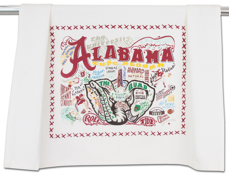 University of Alabama Dish Towel