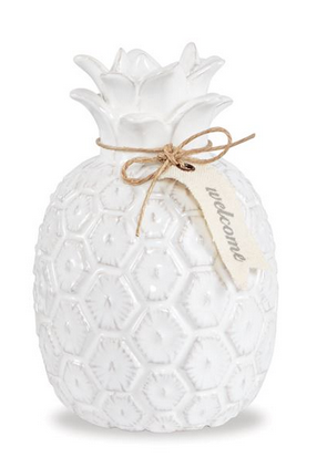 Pineapple Ceramic Bud Vase