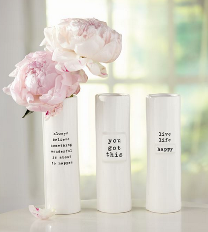 Pazitive Stem Vases by Mud Pie
