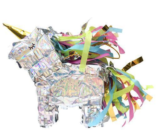Unicorn Shaped Mini Pinata by Slant
