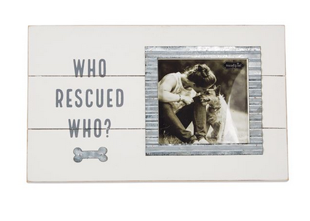 Who Rescue Who Frame by Mud Pie