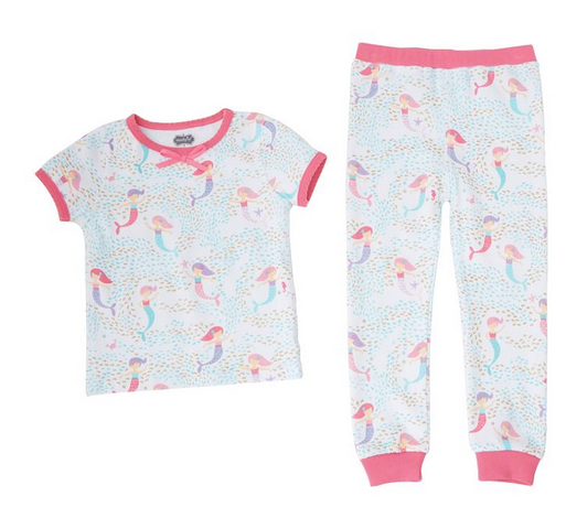 Mermaid Pajamas by Mud Pie