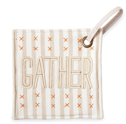 Gather & Gobble Pot Holders by Mud Pie