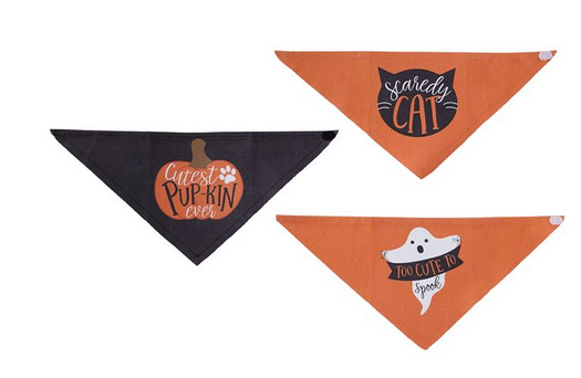 Halloween Pet Bandanas by Mud Pie