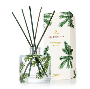 Frasier Fir Petite Pine Needle Reed Diffuser by Thymes