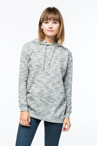 Heather Grey Oversized Hoodie