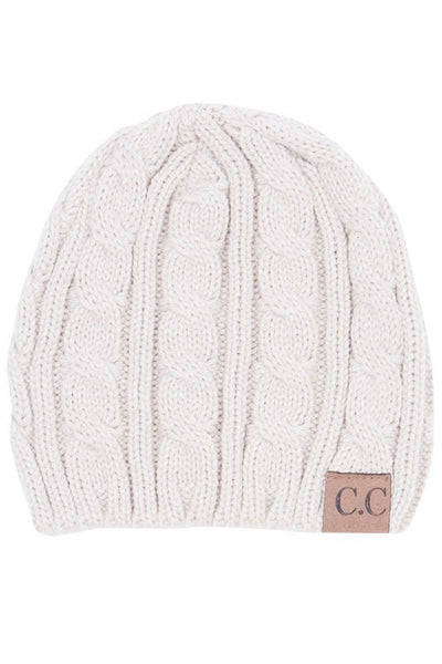 CC Knitted Beanie (final sale)