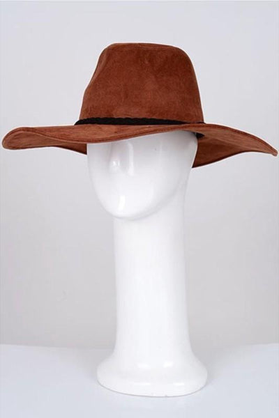 Brown Western Hat (final sale)
