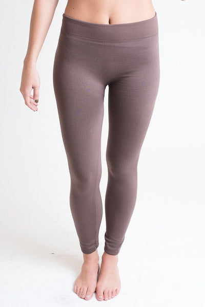 Legs For Days Coco Fleece Lined Leggings - Single Thread Boutique