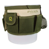 2 Gallon Garden Tool Bag - Green