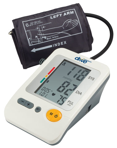 Deluxe Automatic Upper Arm Blood Pressure Monitor