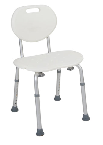 Drive Shower Chair with Oval Back