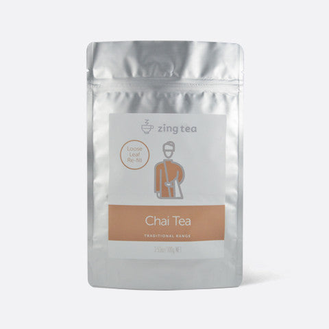 Zing Chai Tea Refill</br> Loose Leaf - 100g NET