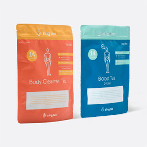 Zing Detox Pack <br />Zing Body Cleanse + Zing Boost Tea