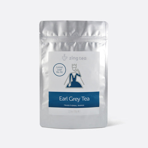 Zing Earl Grey Tea Refill</br> Loose Leaf - 100g NET