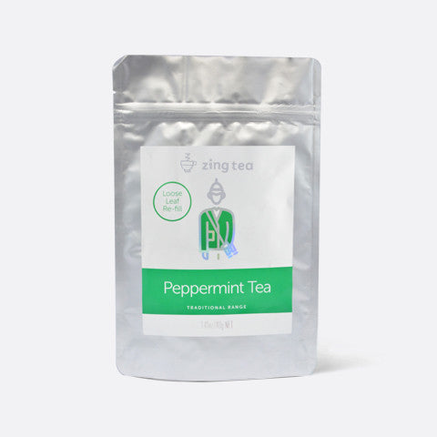 Zing Peppermint Tea Refill</br> Loose Leaf - 40g NET