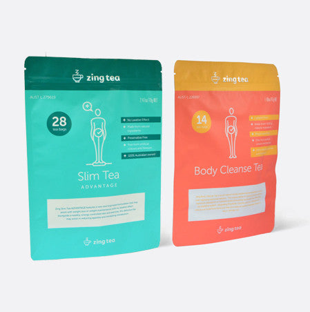 Slim Advantage Duo Pack - Starter kit<br />Zing Slim Advantage + Body Cleanse