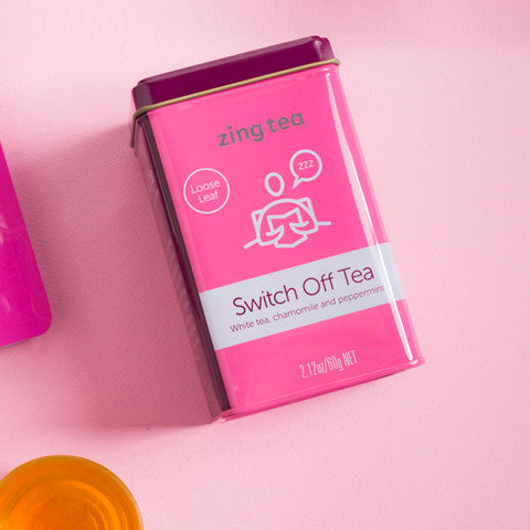 Zing Switch Off Tea <br />Loose Leaf - 100g NET