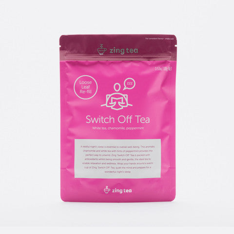 Zing Switch Off Tea Refill</br> Loose Leaf - 100g NET