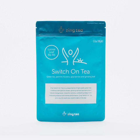 Zing Switch On Tea Refill</br> Loose Leaf - 100g NET