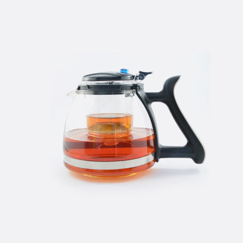 Nero Glass Teapot