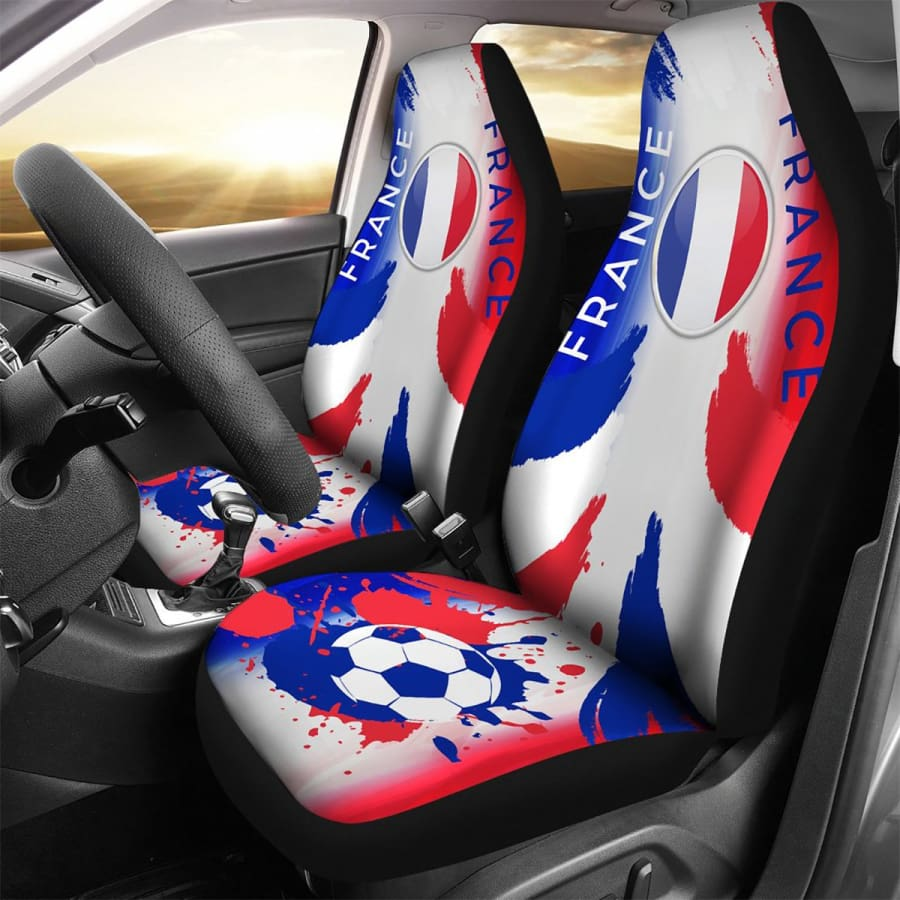 2018 FIFA World Cup Champions France Car Seat Covers 2pcs