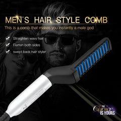 Hair And Beard Straightening Comb
