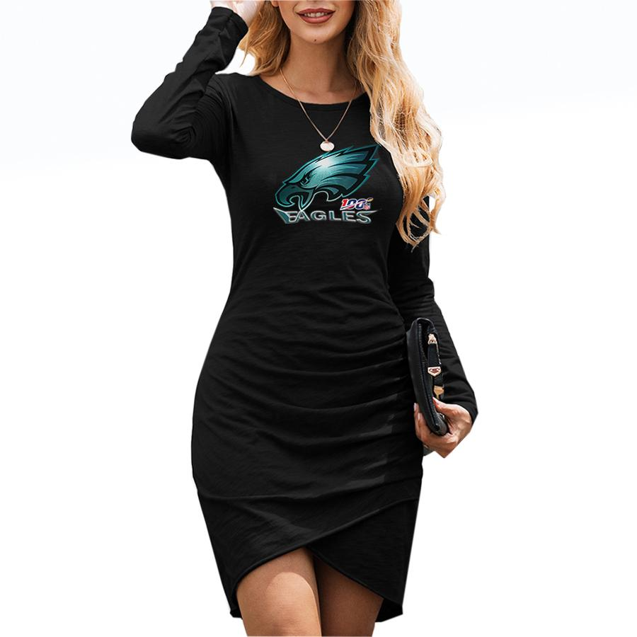Eagles_Super Bowl_Women's Dresses Black