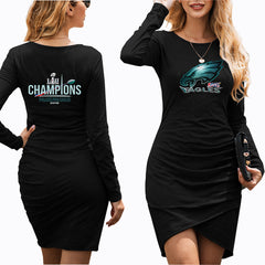 NFL 100 Philadelphia Eagles Dress|Eagles Women's Dress (3 Colors)