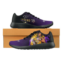 Kobe Bryant Sneakers Mens Womens Kids|Mamba Forever Shoes|Lakers 24 Footwear