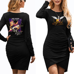 "Kobe Bryant Dress|Kobe ""Mamba Forever"" Butterfly Dress Style Womens Spring/Fall (3 Colors)"