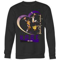 "Kobe Sweatshirt ""Heart Of A legend""