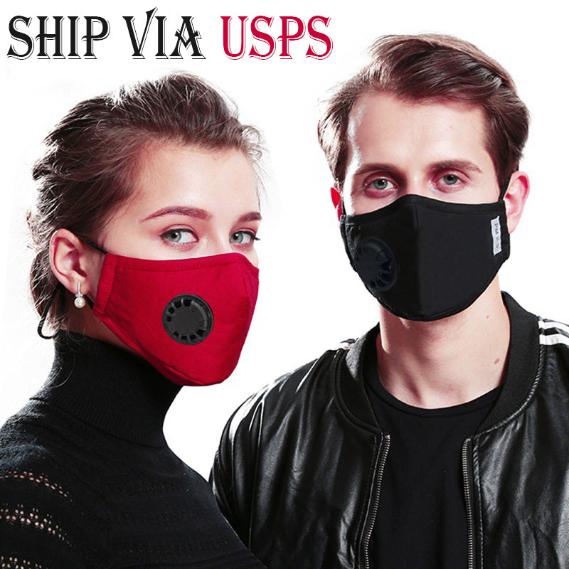 PM2.5 Filter Mask with Valve Ship from USA