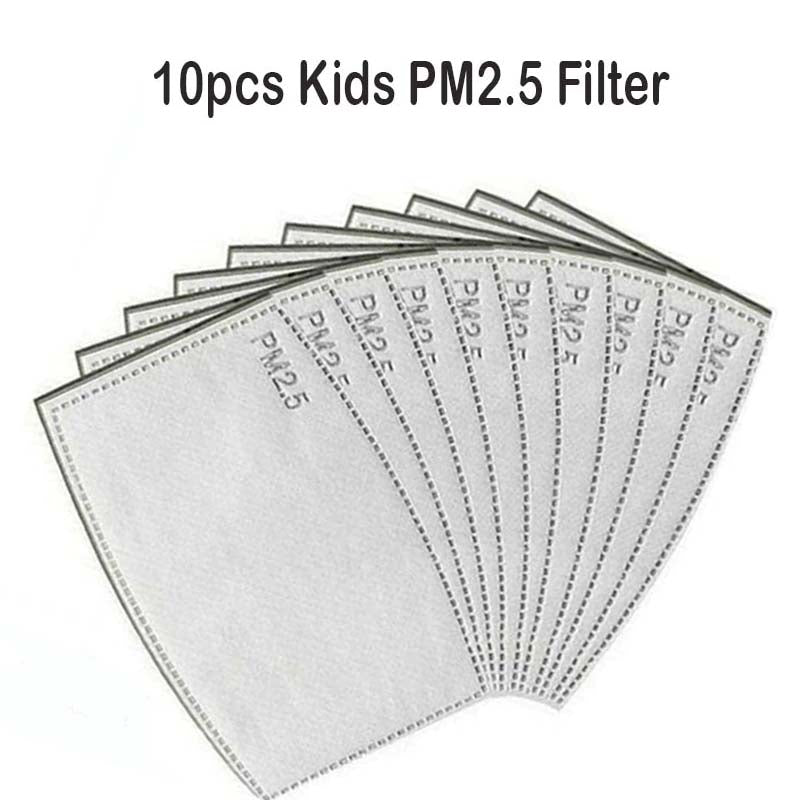 10pcs kids PM2.5 Filter Ship From USA/KN95 filter