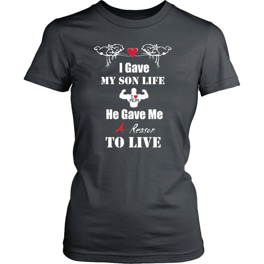 A Reason To Live - Hot Mothers Day Gift Women Shirt (8 colors) - District Womens / Charcoal / XS
