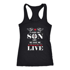A Reason To Live - Perfect Mother's Day Gift Racer-back Tank (6 Colors)