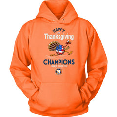 Astros Champions 2017 Thanksgiving Unisex Hoodie (12 Colors)