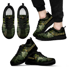 Awesome No. 1 Army Dad Sneakers Father's Day Gift