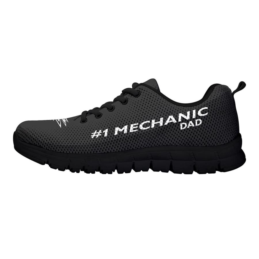 Awesome No. 1 Mechanic Dad Sneakers Fathers Day Gift