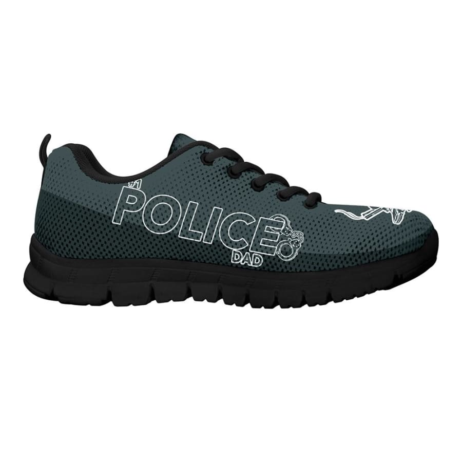 Awesome No. 1 Police Dad Sneakers Fathers Day Gift