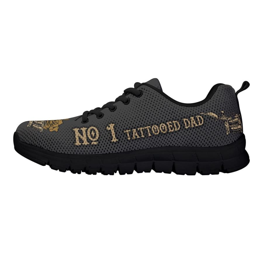 Awesome No. 1 Tattooed Dad Sneakers Fathers Day Gift