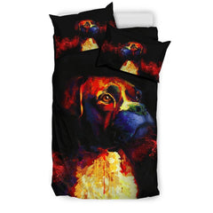 Boxer Lovers Bedding Set