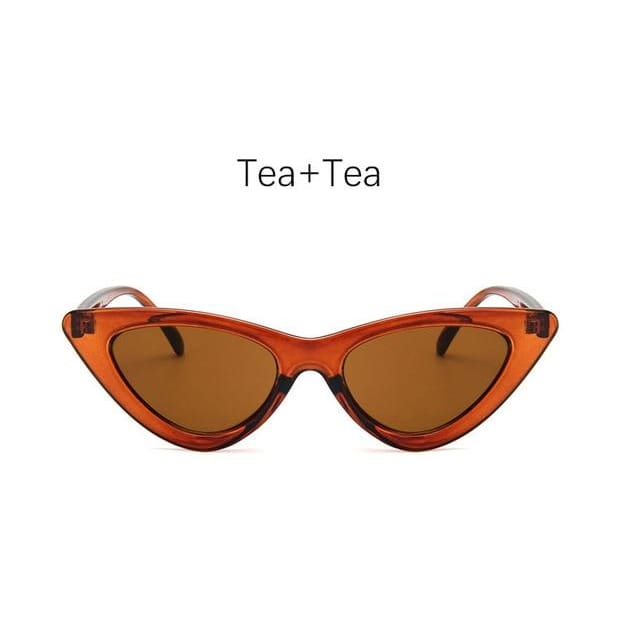 Cat Eye Sunglasses - Tea
