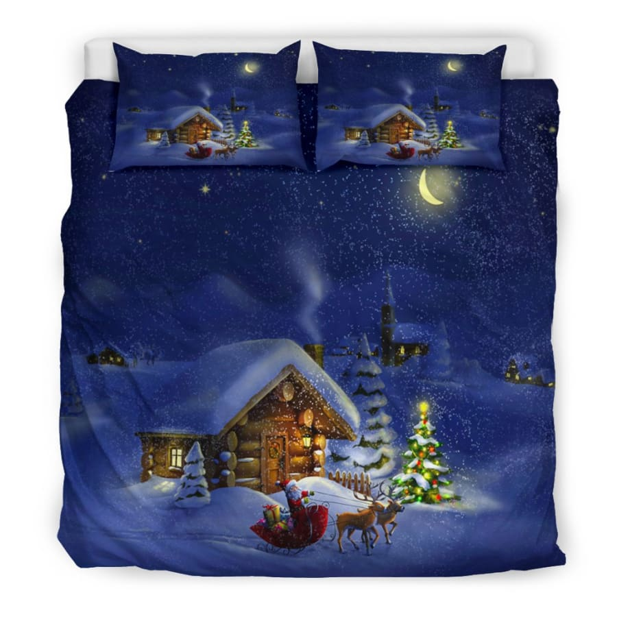 Christmas Night Bedding Set - US King